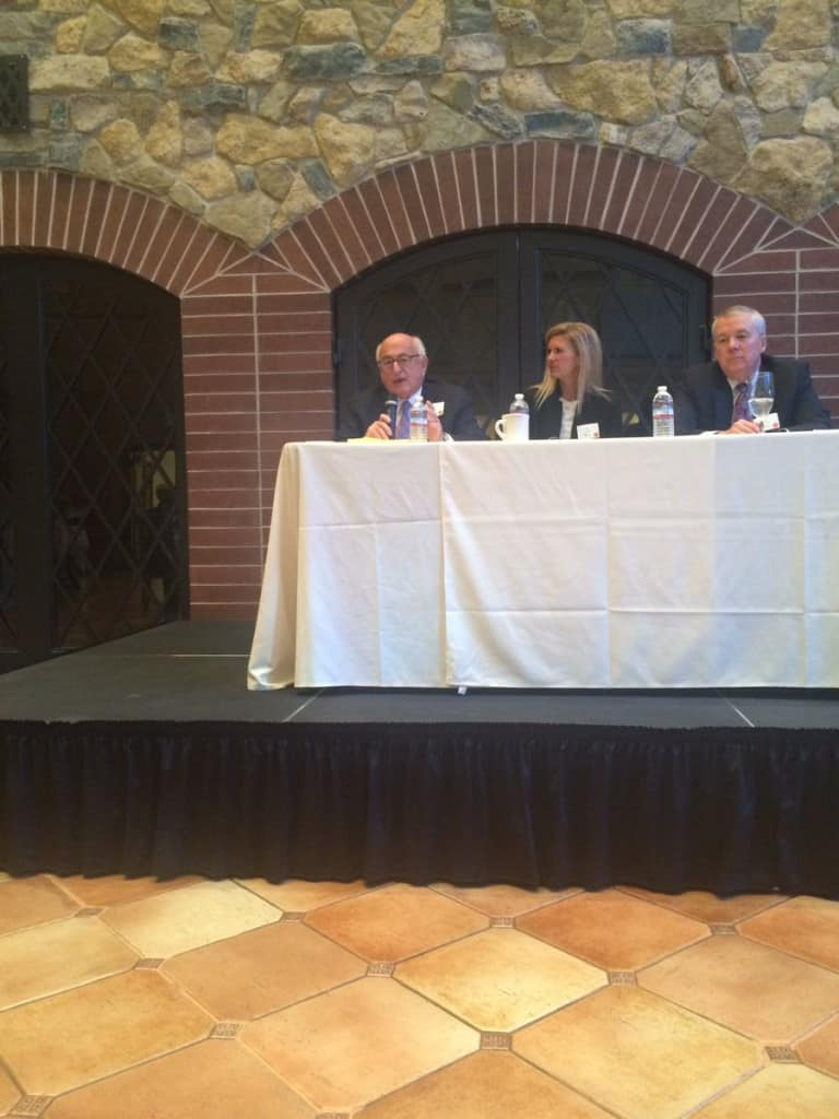 financial experts evaluate impact of presidential election on as part of the fall finance forum hosted by the reiman school of finance at