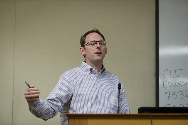 Assistant Professor Paul Seaborn