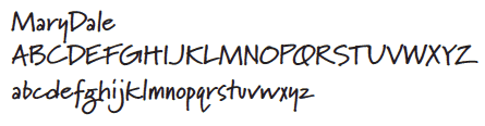 brand-font-marydale