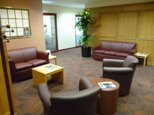 The Student Services office—home of the Academic Advisers.