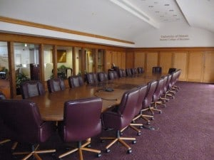 The Schneider Board Room on the 6th floor.
