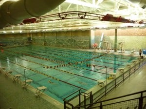 The only Olympic-sized swimming pool in Denver!
